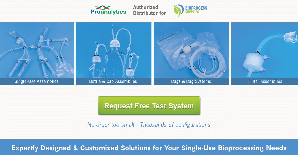 Custom single use assemblies from Bioprocess Supplies