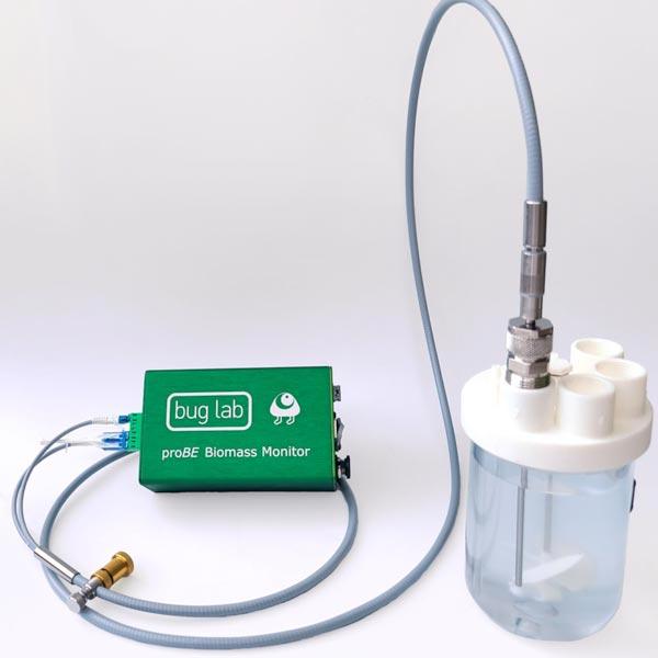 biomass sensor fiber optic buglab