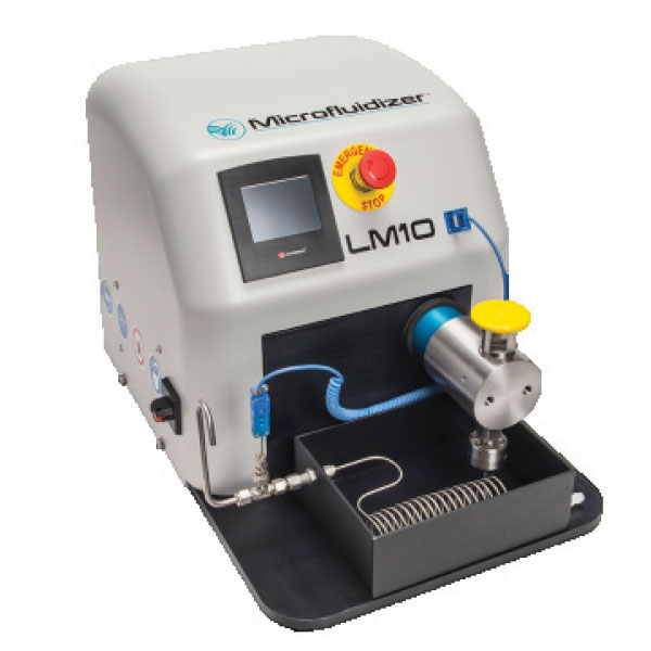 microfluidizer laboratory homogenizer LM10