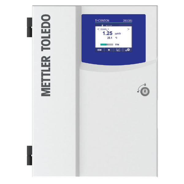 silica analyzer SiO2 and phosphate analyzer 2850i mettler toledo