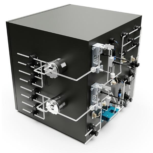 sideview - single use chromatography system agilitech